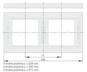 ( set534554_4 ) Gniazdo LAN RJ45 UTP kat. 5e